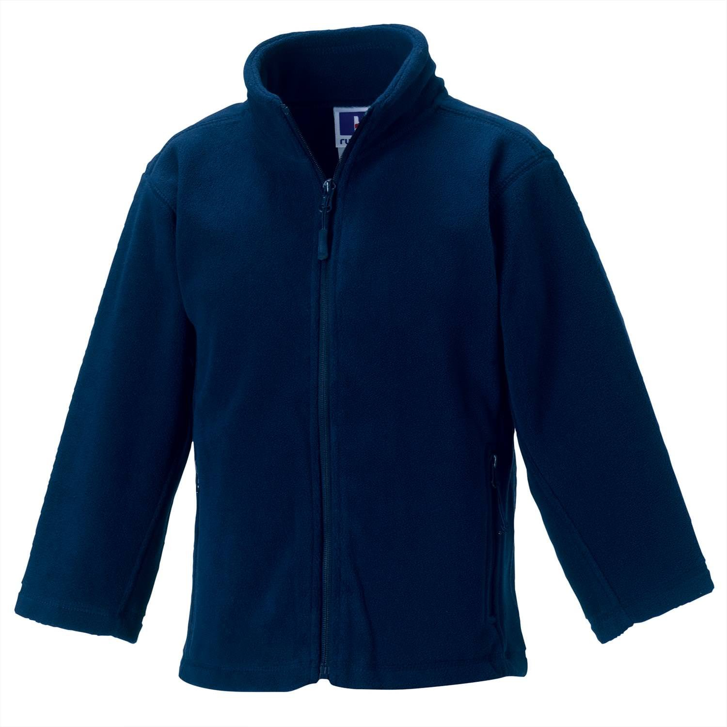 Jerzees Schoolgear Kids Full Zip Outdoor Fleece AA001