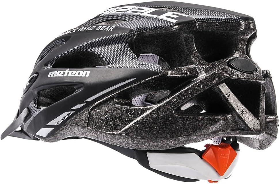 Meteor Casco Bici per Giovani e Adulti Donna e Uomo Caschi Perfetto per Ciclismo MTB Scooter Helmet per Tutte Le Forme di attivit/à in Bicicletta Helmo Drizzle
