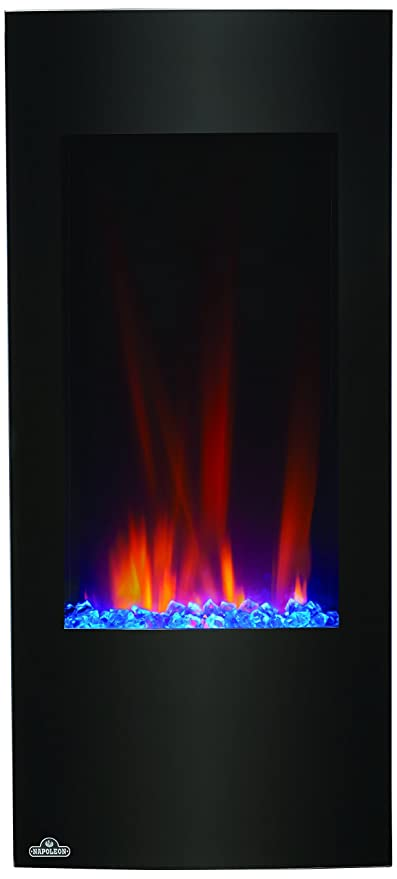 Napoleon NEFV38H Vertical Wall Mount Electric Fireplace, 38 Inch