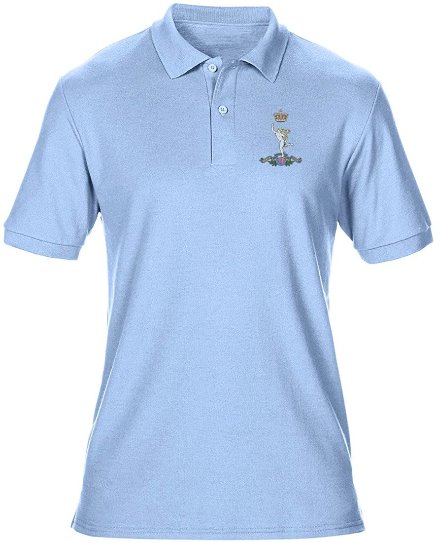 Royal Signals Embroidered Logo - Official British Army Mens Polo Shirt By Military Online