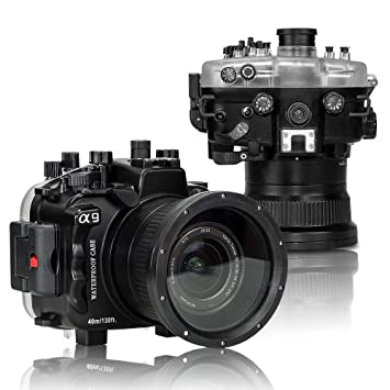 Market&YCY Estuche Sumergible para cámara subacuática de 130 pies ...