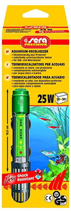 Amazon.com : Sera 1 Piece Aquarium Heater Thermostat 25W : Programmable Household Thermostats : Pet Supplies