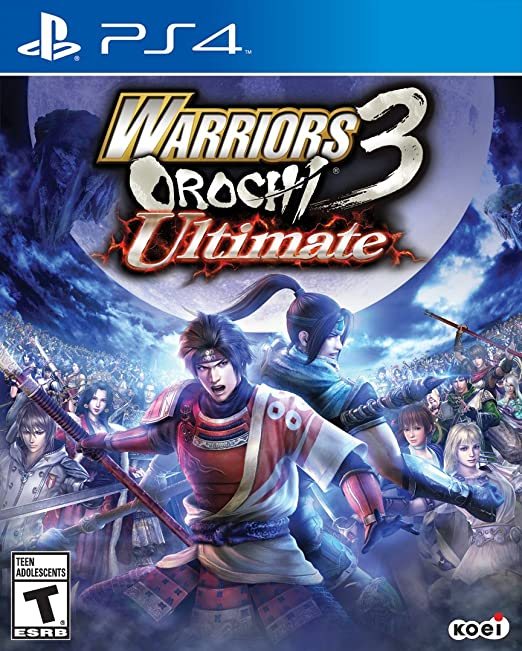 Amazon Com Warriors Orochi 3 Ultimate Playstation 4 Koei