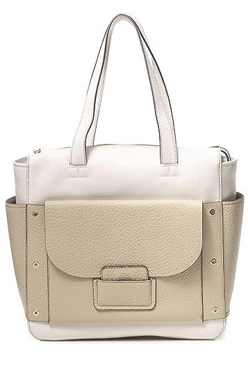 2943aa07e958 Amazon.com  Furla Adele shoulder bag medium beige  Luxuryfreeshop