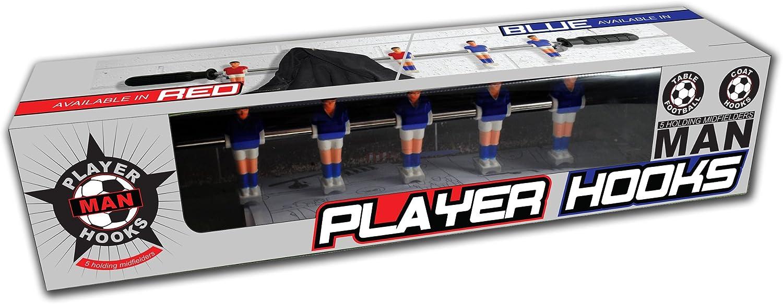 B3 - Perchero con Ganchos, diseño de Jugadores de futbolín, Color ...