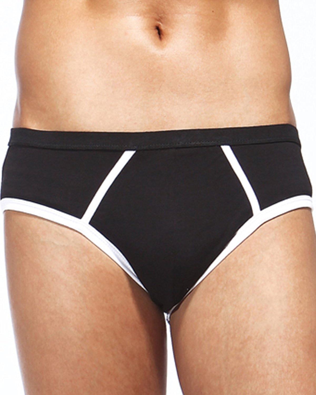 Godsen Mens 5-Pack Briefs Low Rise Briefs Underwear