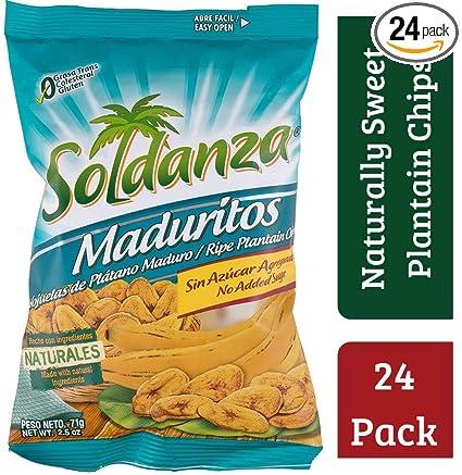 Chips con sabor a Soldanza: Amazon.com: Grocery & Gourmet Food