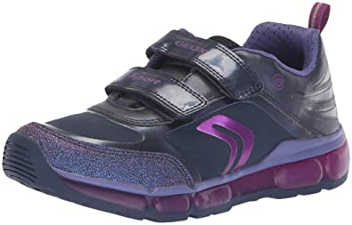 170c1b9f1bd Amazon.com | Geox Kids' Android Girl 19 Light-up Sneaker | Sneakers
