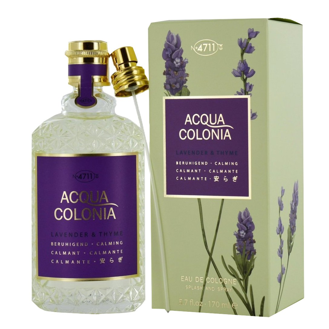 4711 Acqua Colonia Unisex Eau de Cologne Spray, Pink Pepper and Grapefruit 170 ml Mäurer und Wirtz 3UL1297