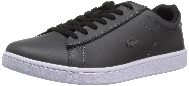 Lacoste Women's Carnaby Evo 118 7 SPW Sneaker B071X864T8 6 B(M) US|Dark Grey/Black
