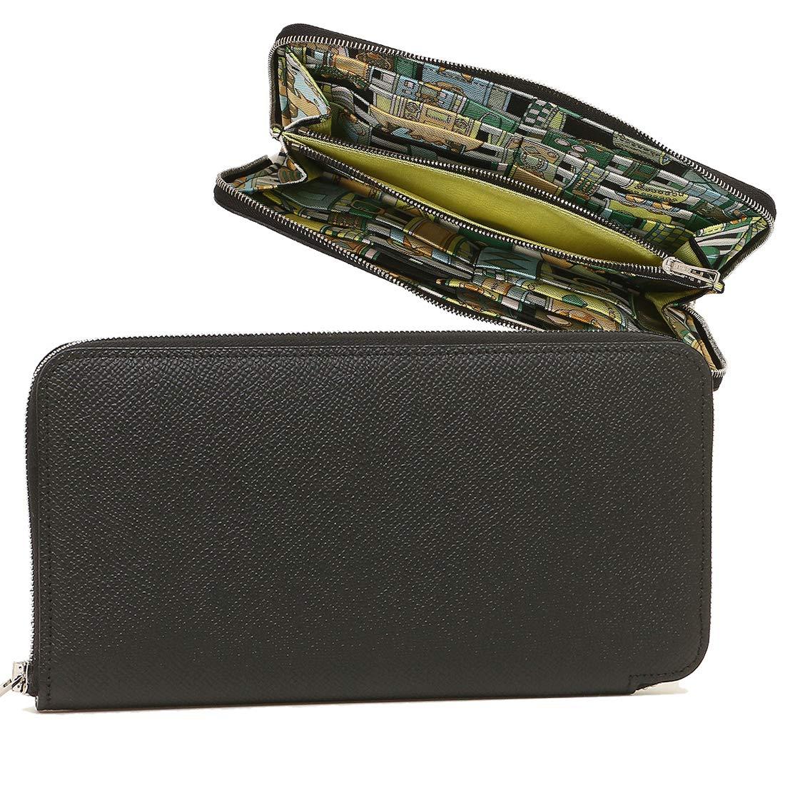 1007d9a5536f Amazon | [エルメス]長財布 レディース HERMES H067388 AH ブラック マルチカラー [並行輸入品] |  HERMES(エルメス) | 財布