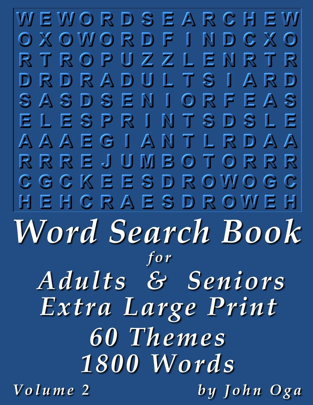 - Amazon.com: Word Search Book For Adults & Seniors: Extra Large