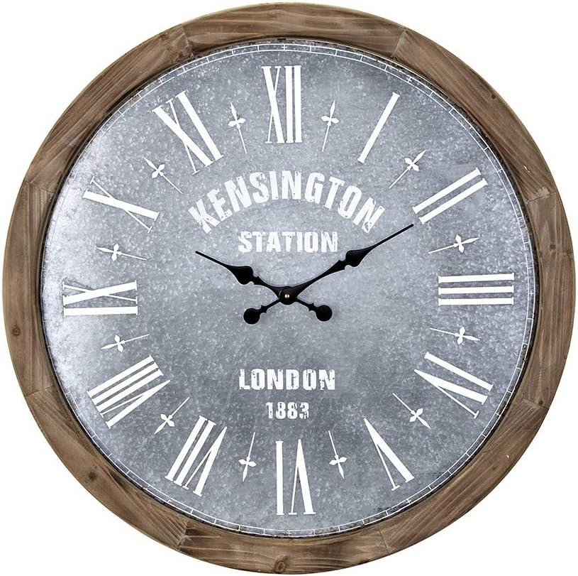Imax 16302 Grant Oversized Wall Clock Beige Amazon Ca Home Kitchen