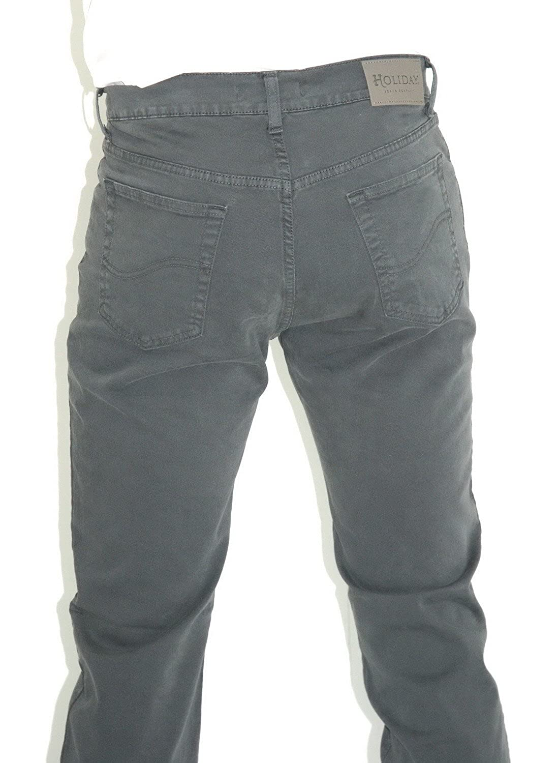 e2d3e73521b0 HOLIDAY MOD. Panama - Pantaloni Cotone Uomo - Elasticizzati - Made in Italy  - ITA 46-60 - Regular Fit: Amazon.it: Abbigliamento