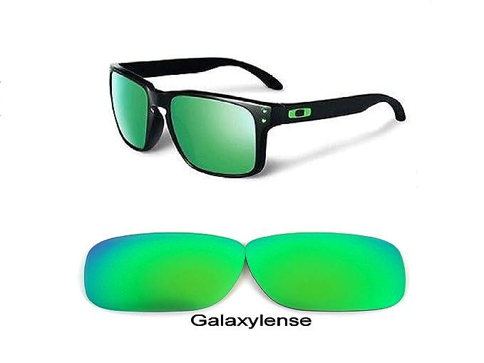 Galaxy Lentes De Repuesto Para Oakley Holbrook POLARIZADOS VERDE 100% UVAB - s, Regular