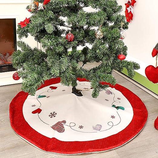 Falda árbol De Navidad Decoración Navidad Fondo 120 Cm Falda árbol ...