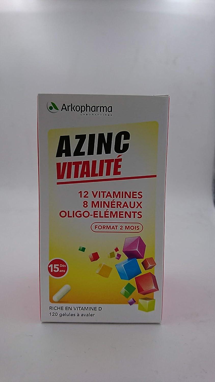 Arkopharma Azinc - Forma y vitalidad: Amazon.es: Salud y cuidado personal