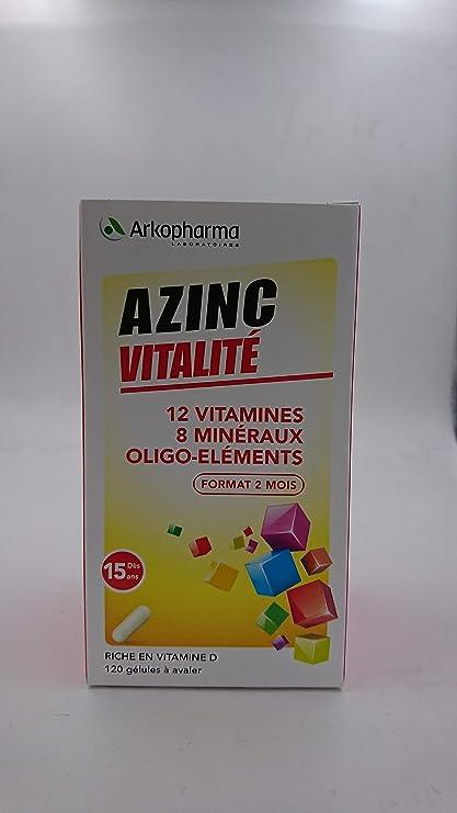 Arkopharma Azinc - Forma y vitalidad