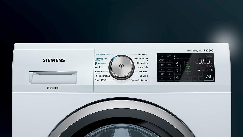 Siemens iQ500 WM14T7A1 Independiente Carga frontal 8kg 1400RPM A ...