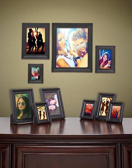 Amazon James Scott Black Picture Frames Set Of 10 Photo Frame