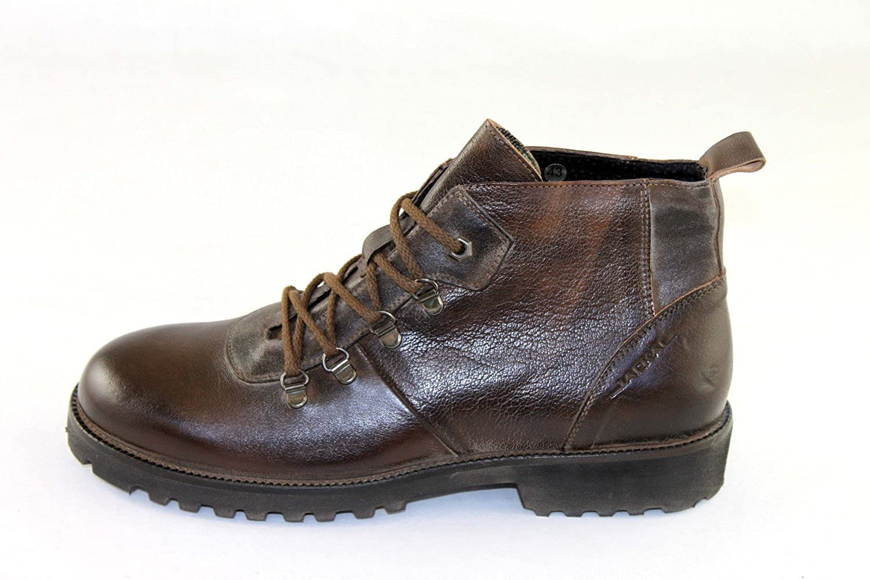 Jackal Milano Herrenschuhe schuhe Schuhe Schnürer JL512 13 Vintage Look Look Look Braun b5421a