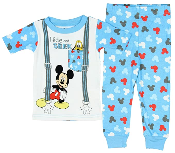 bd1e8267eccb Amazon.com  Disney Baby Boys  Toddler Mickey Mouse Pluto Hide And ...
