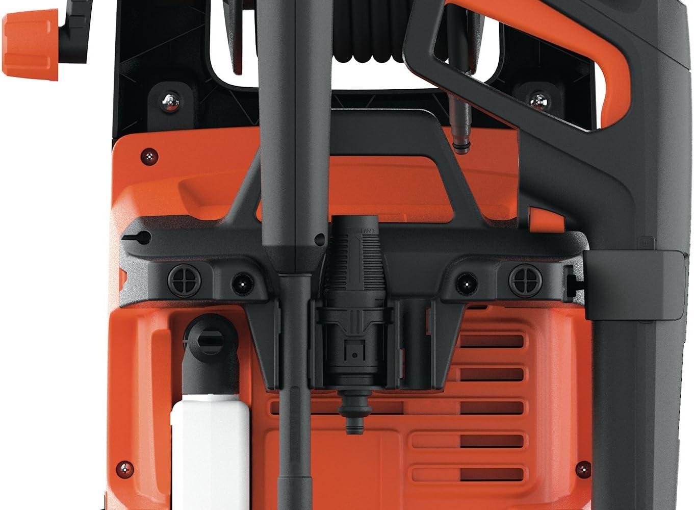 2100 W, 145 bar, 450 l//h Black+Decker BXPW2100E Hochdruckreiniger mit Induktionsmotor