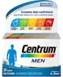 Centrum Men (30 Count) Multivitamin/Multimineral Supplement Tablet, Vitamin D