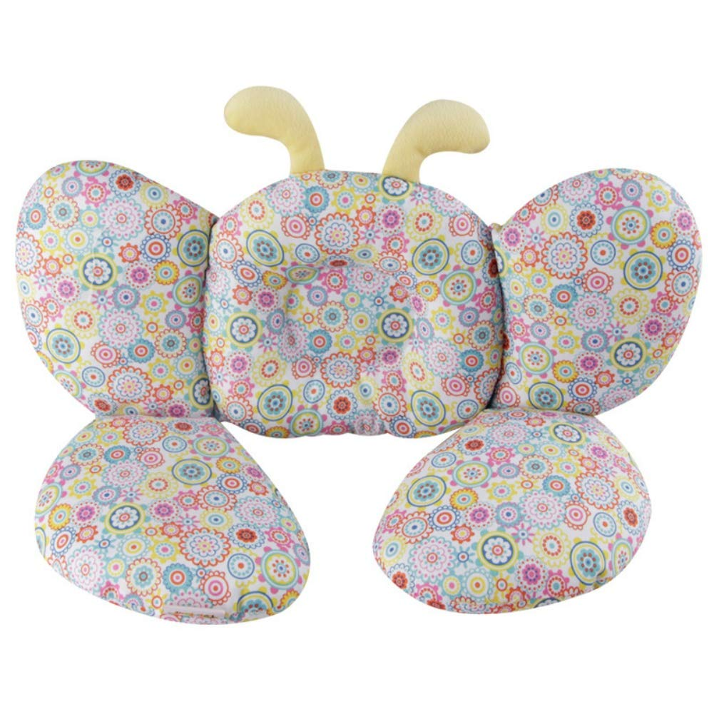Baby Neck Support Pillow, BOBORA Toddler Kids Travel Pillow for Car Seat, Pushchair, Pram, Buggy to Provide Comfort and Protect Spine BO-UK774-XZ0329A
