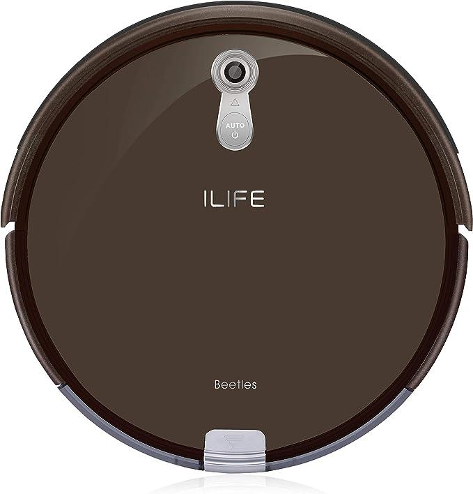 ILIFE A8 Robot Aspirador, marrón: Amazon.es: Electrónica
