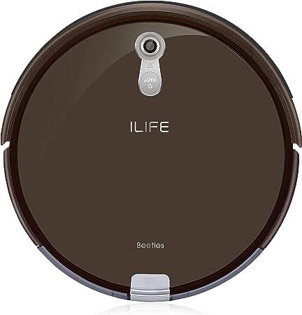 ILIFE A8 Robot Aspirador, marrón: Amazon.es: Hogar