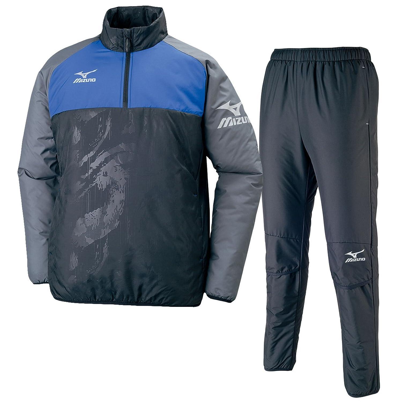 ミズノ(MIZUNO) ウォーマーシャツ&パンツ 上下セット(ブラックターキッシュブルー/ブラック) P2ME7520-92-P2MF7520-09 B0772PPWG1ブラックTブルー×ブラック S