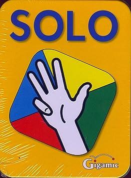jeu de carte solo Gigamic   AMSOLO   Jeu de Cartes d'Action et de Réflexes   Solo
