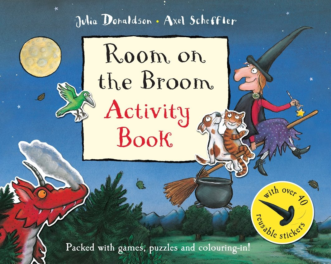 Room on the Broom Activity Book (Princess Mirror-Belle)