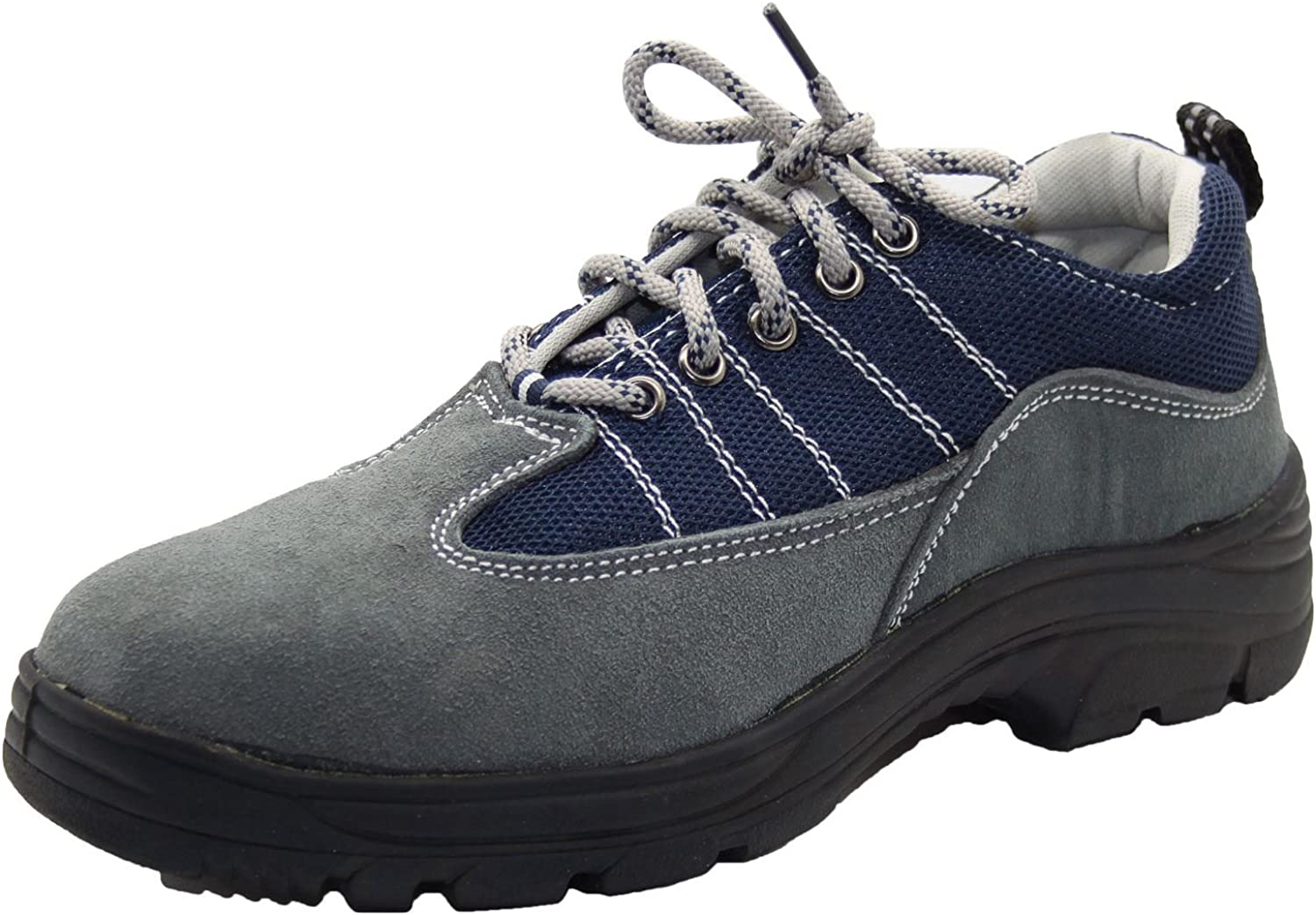 Mens Lace up Work Steel Toe Cap Safety