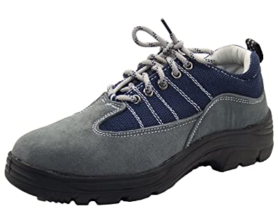 fd281a9e3b7 Mens Lace up Work Steel Toe Cap Safety Boots Low Top Shoes
