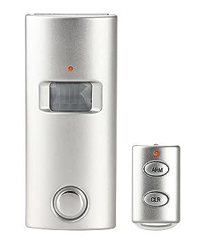 yagiwlan - Alarma de seguridad con sensor de movimiento (solar, con sirena, 130dBi