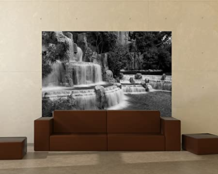 bilderdepot24 self adhesive photo wallpaper waterfall in front of
