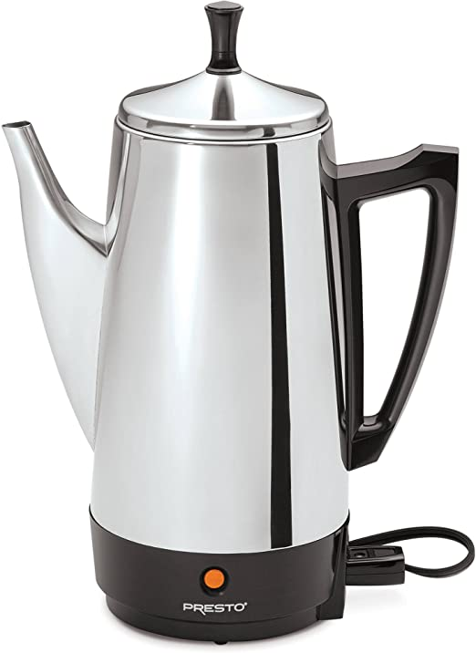 Amazon.com: Presto 02811 - Cafetera (acero inoxidable, 12 ...