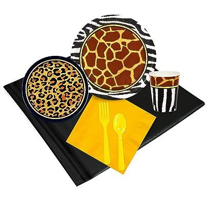 BirthdayExpress Safari Animal Adventure Party Pack: Toys & Games