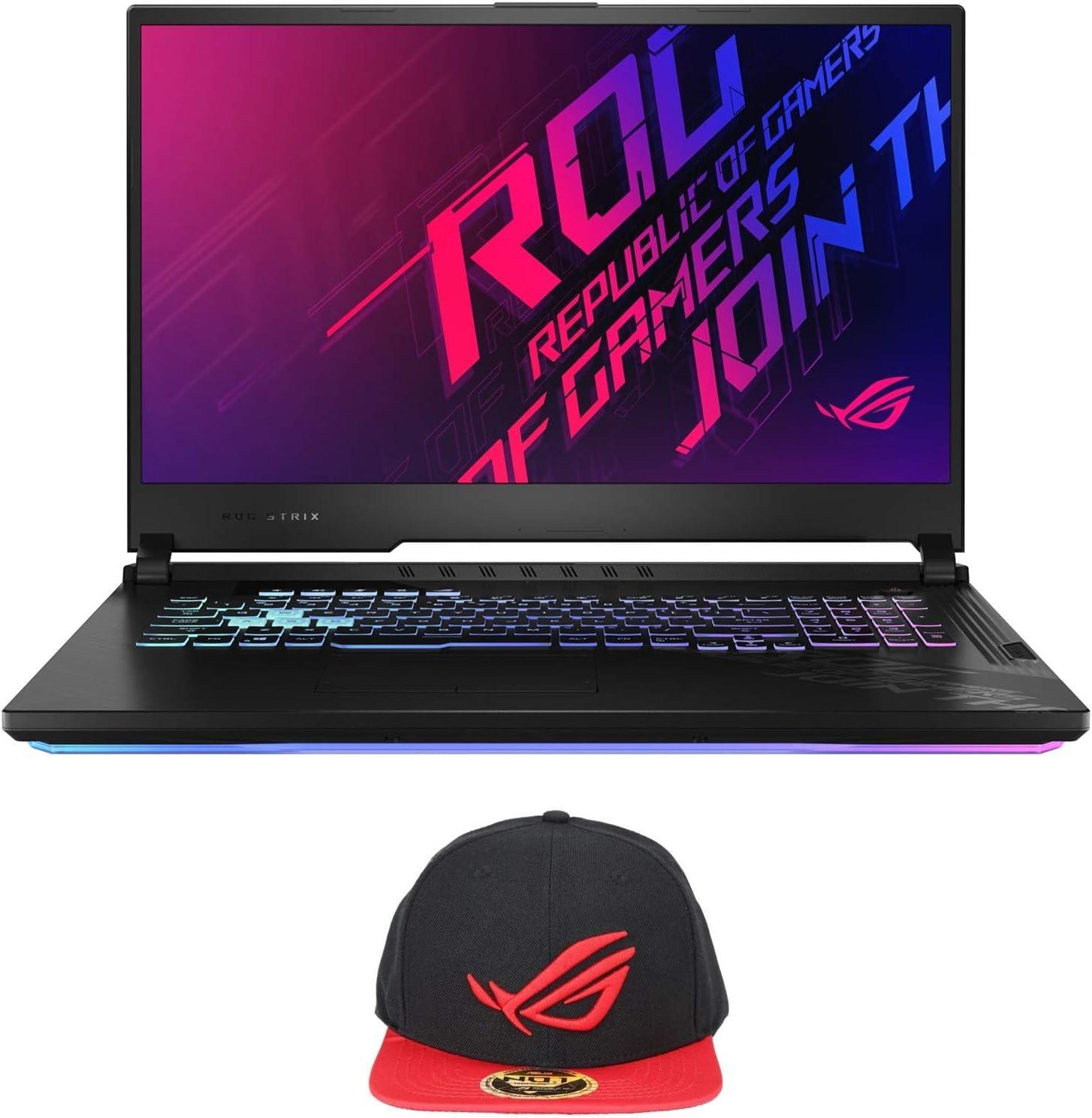 "ASUS ROG Strix G17 G712LU-RS73 Enthusiast (i7-10750H, 32GB RAM, 1TB NVMe SSD, GTX 1660Ti 6GB, 17.3"" FHD 120Hz, Windows 10) Gaming Notebook"
