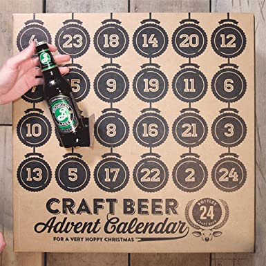 Craft Beer Lager Advent Calendar Amazon Co Uk Grocery