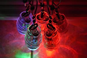 EAT MY TACKLE 5 Deep Drop 3 Color Disco LED Fishing Lights Up to 2200'