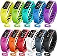 SKYLET Garmin Vivofit Bands, Colorful Fitness Replacement Bands for Garmin Vivofit 1, NOT for Garmin Vivofit 2/3/JR/HR(No Tracker)