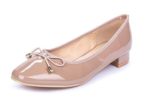zapatos casuales zapatos genuinos orden La Push Mayna Bailarinas Mujer Rosa Palo
