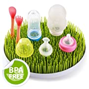Eutuxia Grass Countertop Drying Rack for Baby Bottles, Dishes, Utensils, and More [Green]