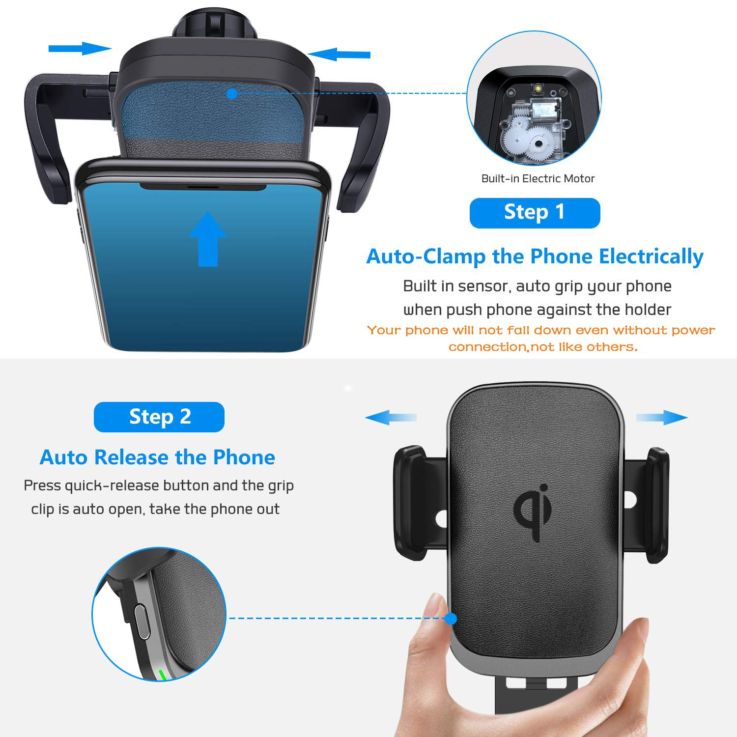 Cshidworld Car Charger Mount