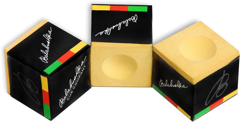 1 Box 3pcs Original Balabushka Custom Billiard Chalk Blue