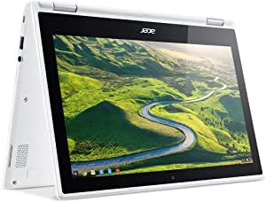 "Acer Chromebook R11 Convertible, 11.6"" HD Touch, Intel Celeron, 2GB Memory, 32GB Storage, Google Chrome, CB5-132T-C32M"