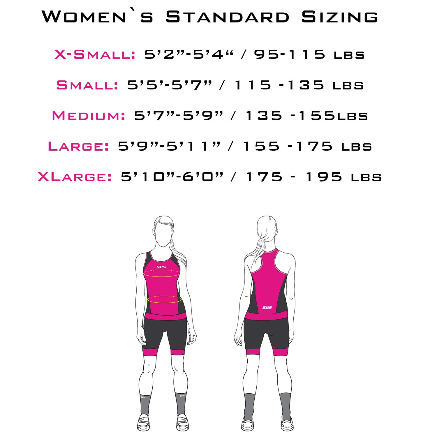 SLS3 Women`s Triathlon Suit FX | Womens Trisuits | 1 Pocket Triathlon Gear Suits Women | Anti-Friction Seams Womens Tri Suit | German Designed (Black/Bright Rose, M) by SLS3 (Image #2)